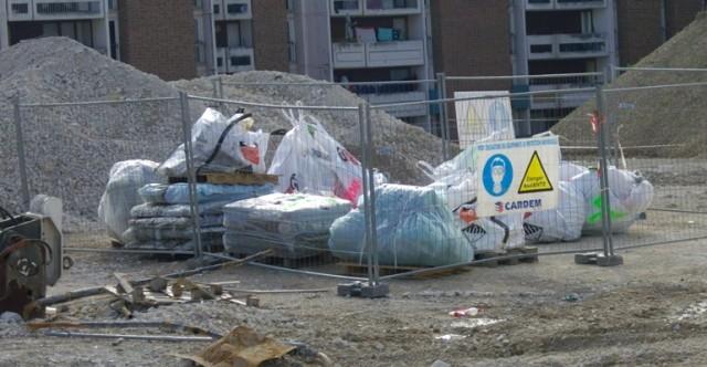 Gestion des déchets amiantés