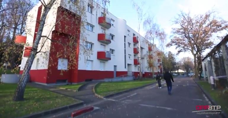 amiante parc social francilien