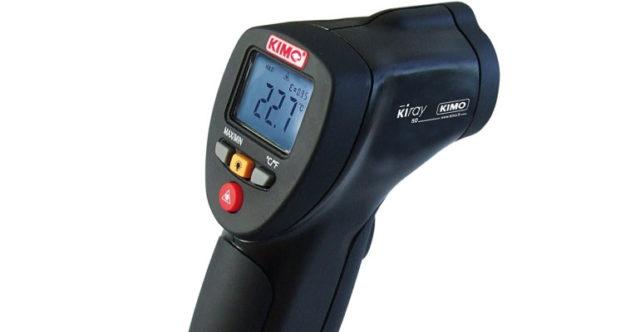 Le matériel de mesures de température et de résistance thermique