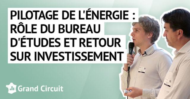 Pilotage de l'énergie : rôle du bureau d'études et retour sur investissement