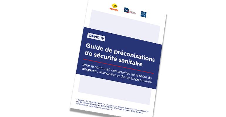 Publication – Le Guide de Préconisation de Sécurité Sanitaire de la Filière Diagnostic et Repérage