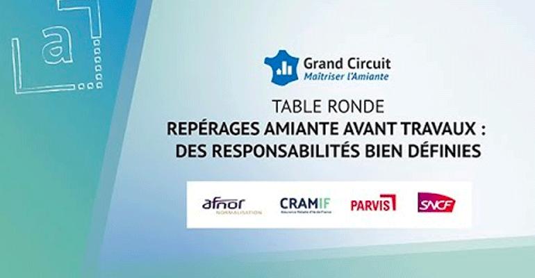 Table ronde – Repérages amiante avant travaux : des responsabilités bien définies