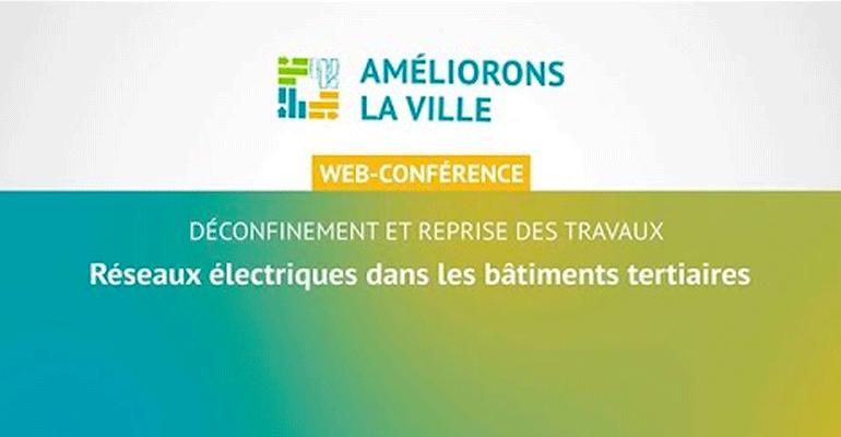 Table ronde – Reprise des travaux : réseaux électriques dans les bâtiments tertiaires