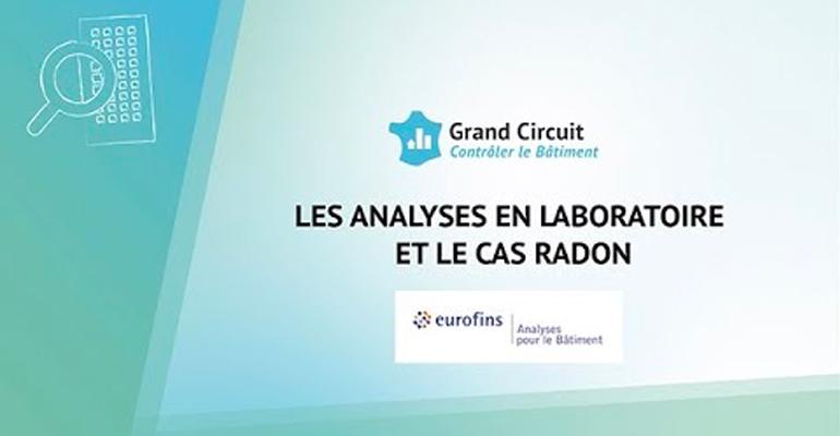 Air intérieur : analyses en laboratoire et le cas radon