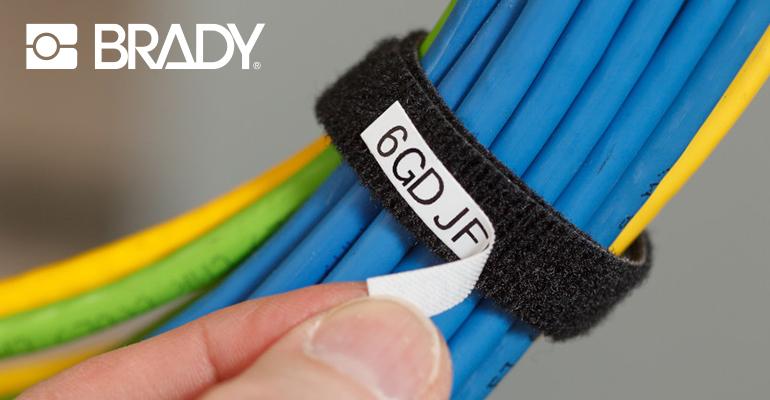 Matériau à crochets imprimable BradyGrip™ : facile à appliquer et retirer