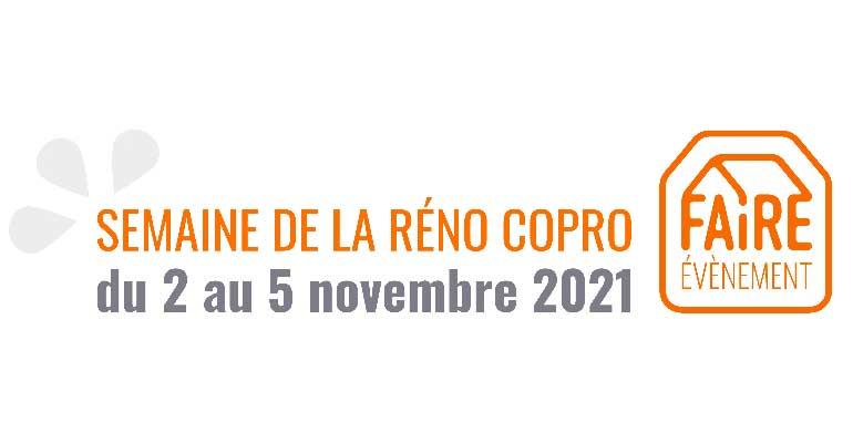 Semaine de la Réno Copro : faîtes votre programme du 2 au 5 novembre